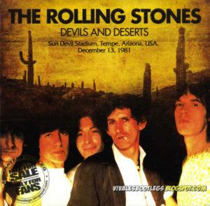 Rolling Stones Devils And Deserts front