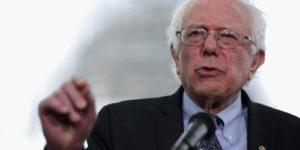 Sen. Bernie Sanders (I-VT) Holds News Conference On Capitol Hill
